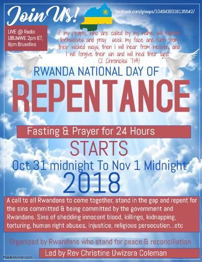 rwanda repentance 2018